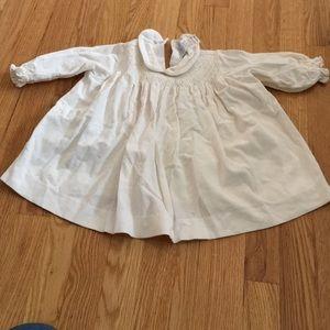 Jacadi girls baby/toddler corduroy dress shirt